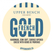 Upper Bench French Gold Cheese