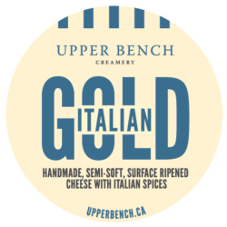 Upper Bench Italian Gold Semi-Soft Cheese