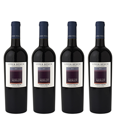 Wine Upper Bench Four Shadows Merlot 2013