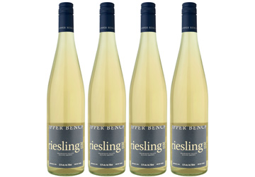 Upper Bench Riesling White Wine 2015
