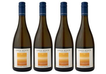 Upper Bench Chardonnay White Wine 2015